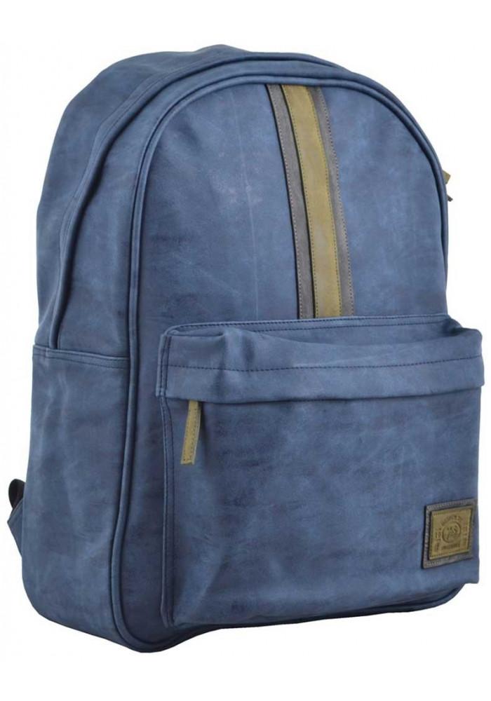 Рюкзак из экокожи для молодых людей YES Infinity ST-16 Deep Ocean