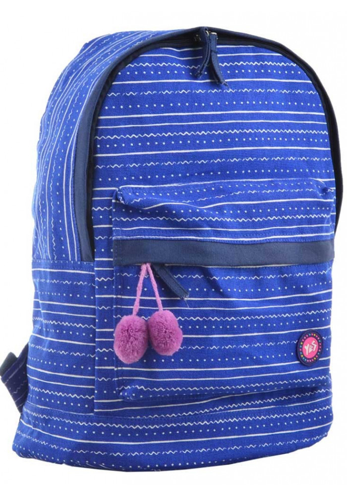 Рюкзак из ткани в полоску YES ST-33 Weave