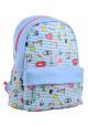 Голубой молодежный рюкзак из экокожи YES Fancy ST-28 Cool