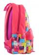 Красный небольшой рюкзак с котами YES Fancy ST-28 Funny Cats, фото №2 - интернет магазин stunner.com.ua