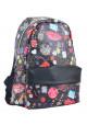 Черный молодежный рюкзак Fashion YES Fancy ST-28 Modern - интернет магазин stunner.com.ua