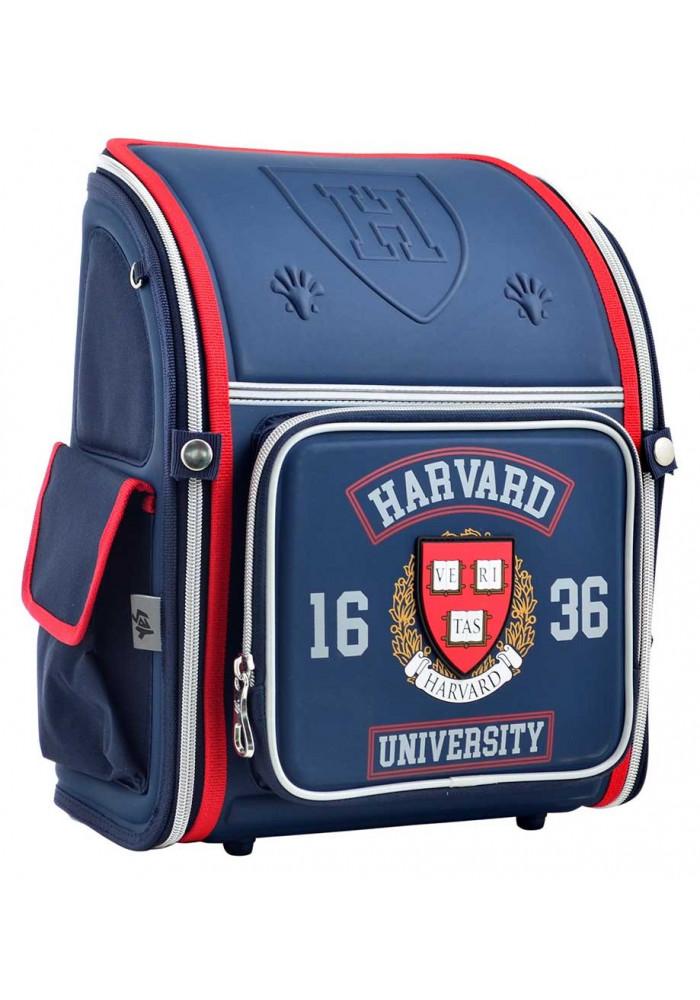 Школьный портфель для мальчика 1 Вересня H-17 Harvard