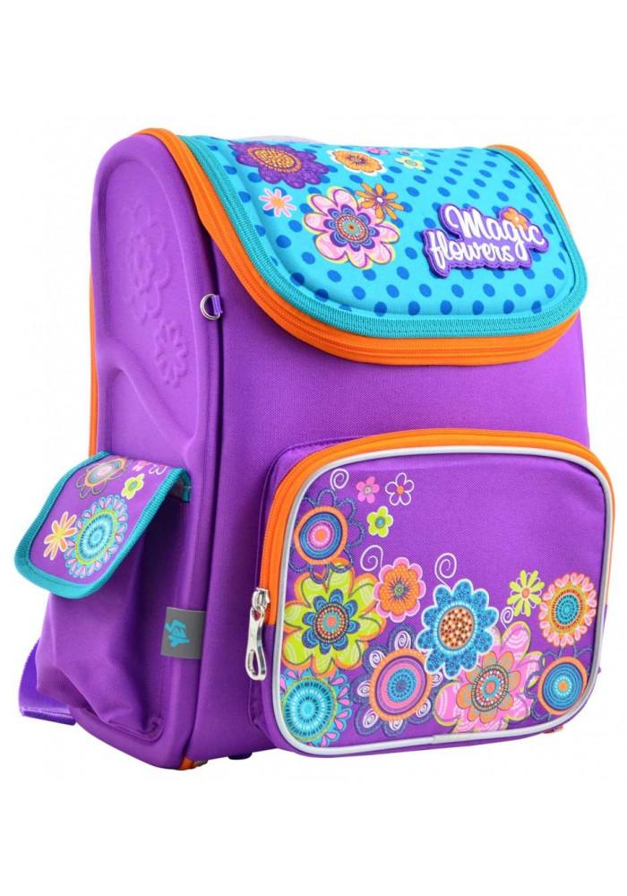 Рюкзак девочке в школу YES Premium H-17 Flowers