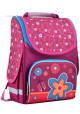 Ранец школьный для девочки SMART PG-11 Flowers Red - интернет магазин stunner.com.ua