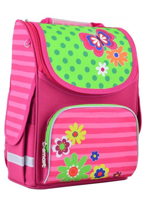 Ранец каркасный для школы SMART PG-11 Flowers