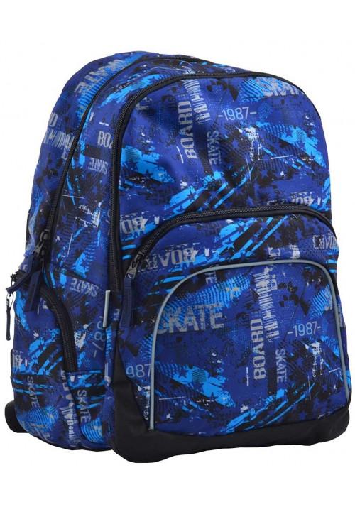 Легкий тканевый рюкзак для школы SMART SG-23 Grave