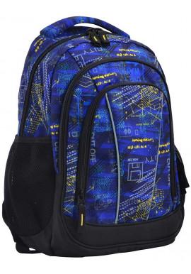 Фото Школьный рюкзак на 3 отделения SMART SG-24 City
