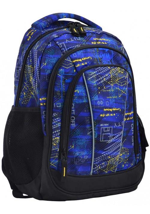 Школьный рюкзак на 3 отделения SMART SG-24 City