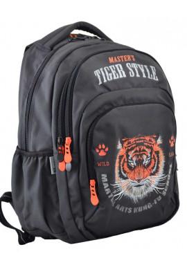 Фото Черный рюкзак с тигром YES T-53 Tiger