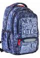 Стильный молодежный рюкзак YES T-54 New York - интернет магазин stunner.com.ua