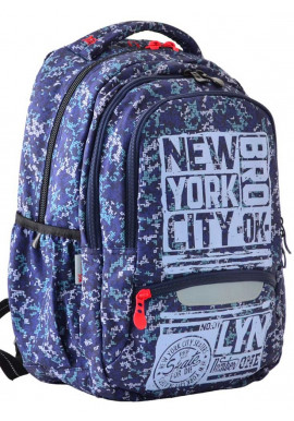 Фото Стильный молодежный рюкзак YES T-54 New York