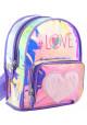 Женский блестящий рюкзак YES ST-20 Furry Love - интернет магазин stunner.com.ua