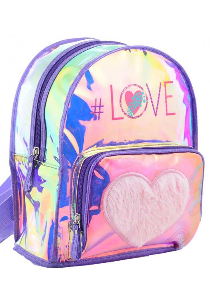 Женский блестящий рюкзак YES ST-20 Furry Love
