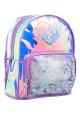 Женский рюкзак с блеском YES ST-20 Glowing Heart - интернет магазин stunner.com.ua