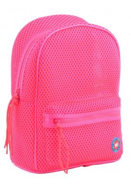 Фото Розовый летний женский рюкзак в сетку YES ST-20 Hot pink