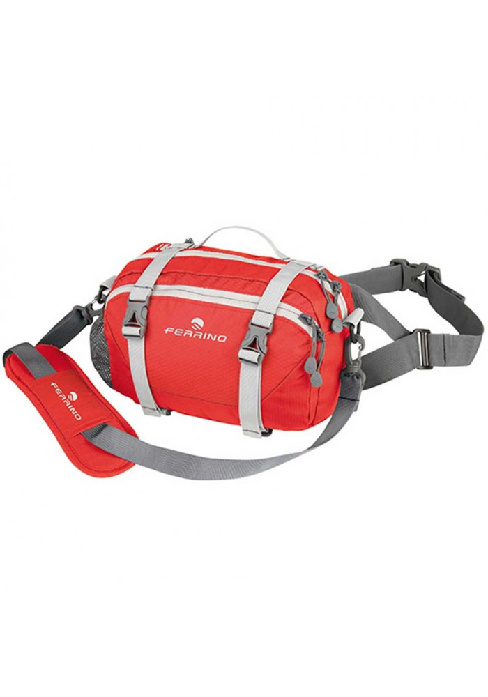 Красная сумка на пояс и на плечо Ferrino Camden Red