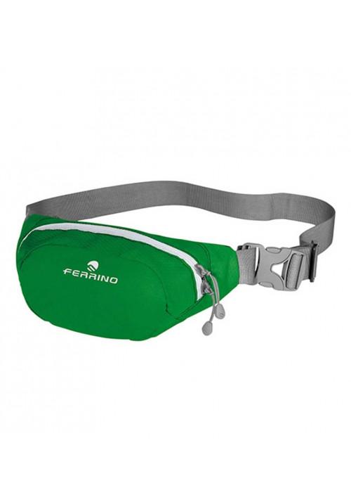 Зеленая сумка на пояс Ferrino Harrow Green