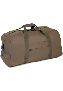 Фото Дорожная сумка цвета хаки Members Holdall Large 120 Khaki