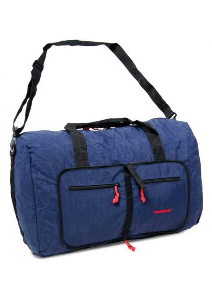 Фото Синяя багажная сумка Members Holdall Ultra Lightweight Foldaway Large 71 Navy