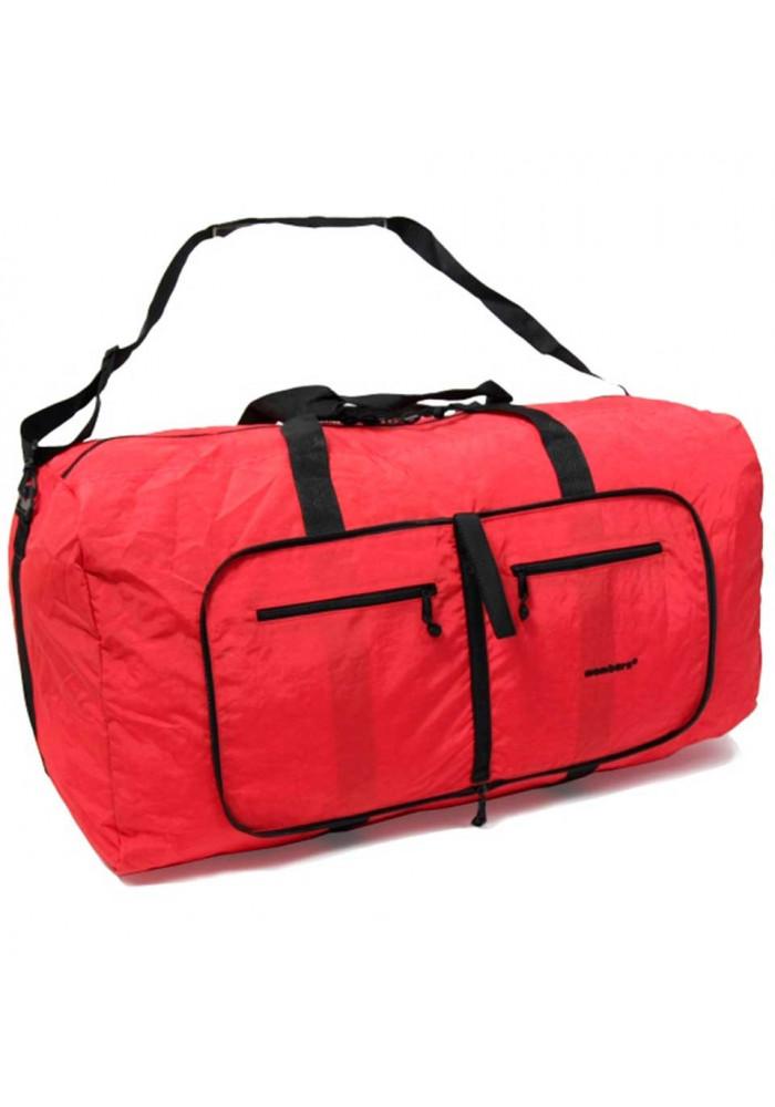 Фото Красная сумка Members Holdall Ultra Lightweight Foldaway Large 71 Red