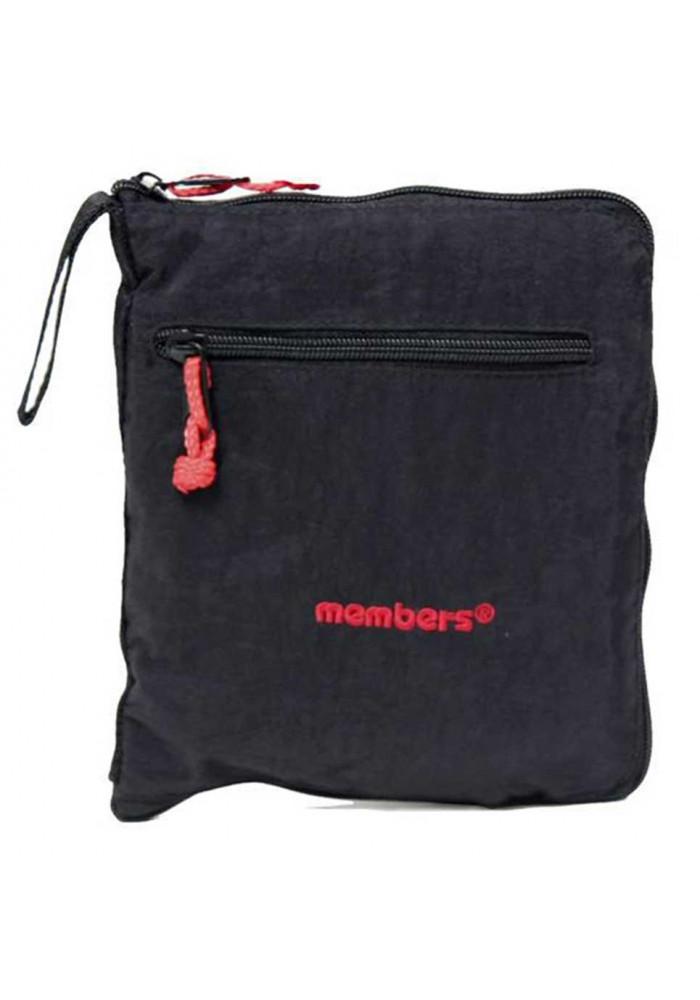 87d384c71db4 ... Маленькая сумка Members Holdall Ultra Lightweight Foldaway Small 39  Black, фото №2 - интернет