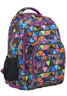 Фото Молодежный рюкзак с ромбиками YES T-48 Facet