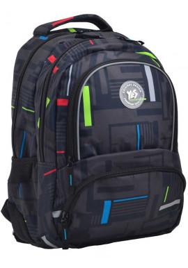 Фото Черный рюкзак для прогулок и учебы YES T-48 Move