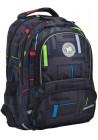 Черный рюкзак для прогулок и учебы YES T-48 Move