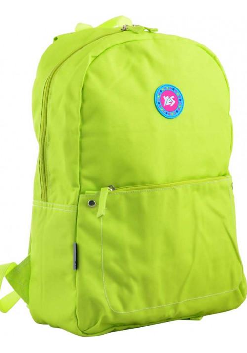 Салатовый рюкзак на лето ST-21 Green Apple