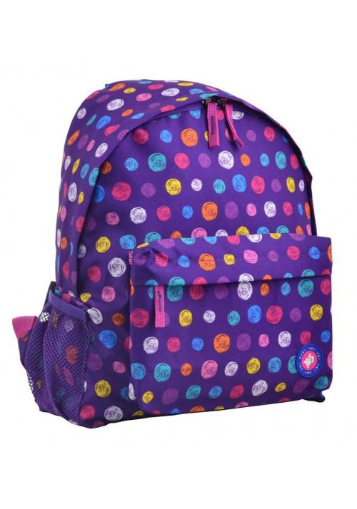 Женский фиолетовый классический рюкзак YES ST-33 Pumpy
