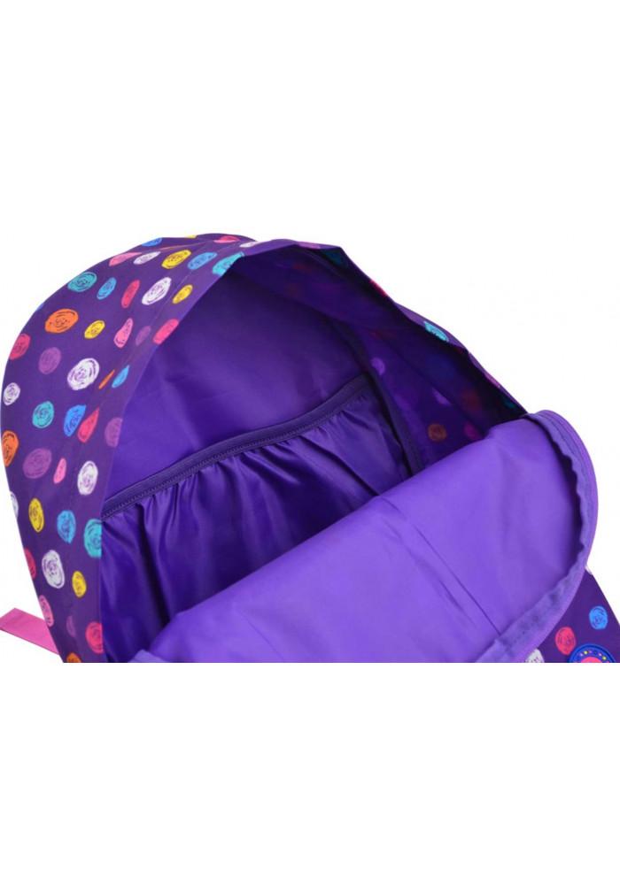 e17f3731b226 ... Женский фиолетовый классический рюкзак YES ST-33 Pumpy, фото №5 -  интернет магазин