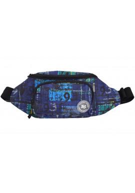 Фото Модная синяя сумка на пояс YES SP-12 Peril