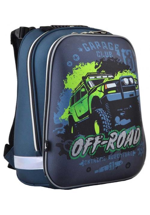 Каркасный рюкзак для школы 1Вересня H-12 Off-Road