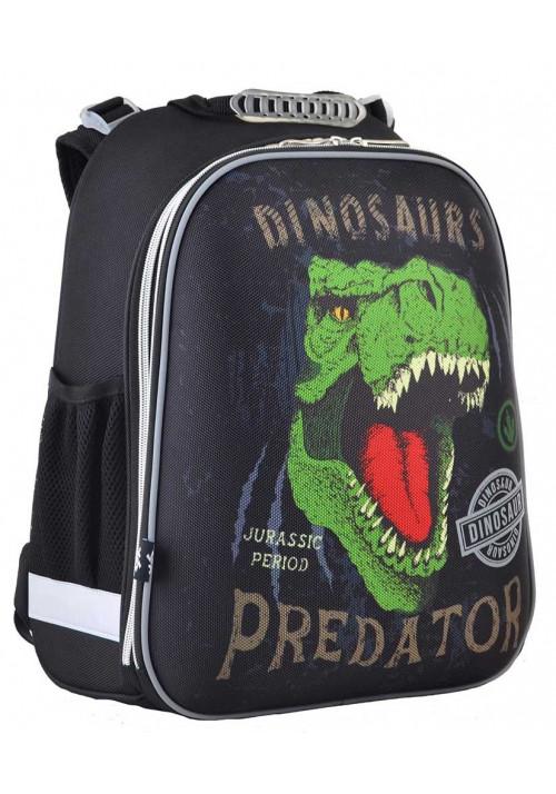 Каркасный рюкзак для мальчика 1Вересня H-12-2 Dinosaurs