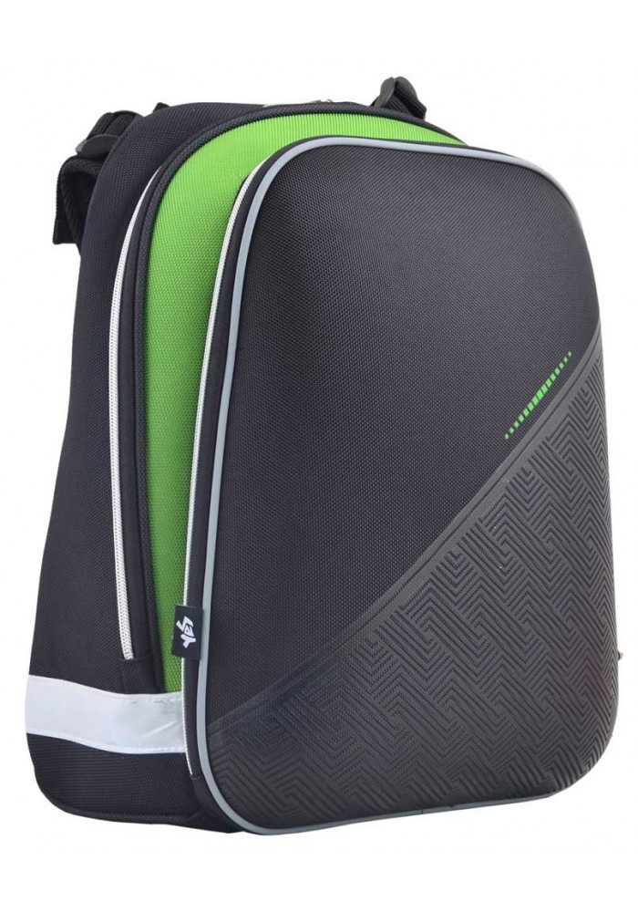 Фото Стильный школьный рюкзак YES H-12 Black