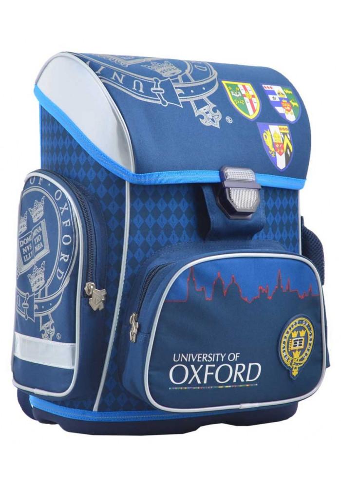 Школьный рюкзак для мальчика синего цвета YES H-26 Oxford