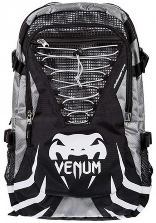 Брендовый спортивный рюкзак VENUM CHALLENGER PRO BACKPACK BLACK GREY