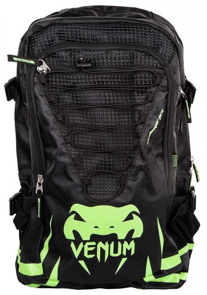 Брендовый рюкзак для тренировок VENUM CHALLENGER PRO BACKPACK BLACK GREEN