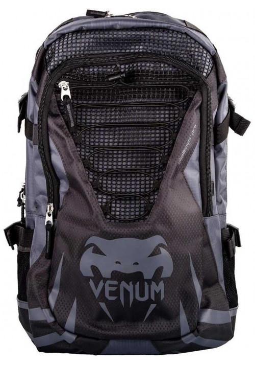 Фирменный спортивный рюкзак VENUM CHALLENGER PRO BACKPACK BLACK GREY