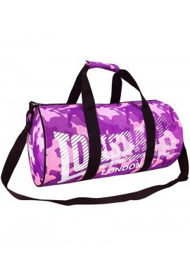 Фото Женская спортивная сумка LONSDALE BARREL BAG PINK
