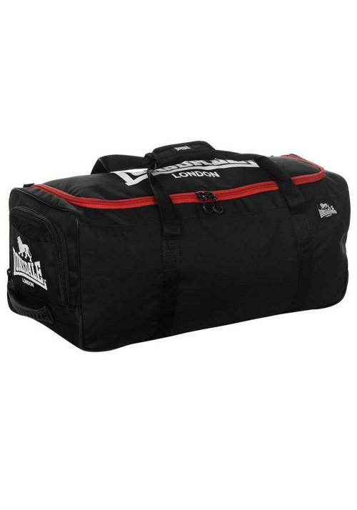 Черная спортивная сумка LONSDALE BOXING HOLDALL