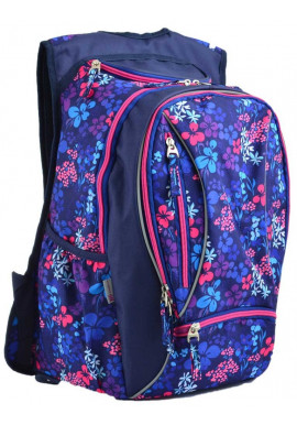 Фото Молодежный рюкзак для девушки с цветами YES T-28 Sweet
