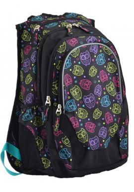 Фото Текстильный молодежный рюкзак YES T-27 OWLS