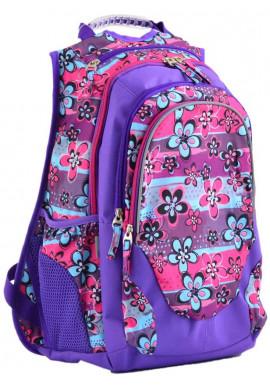 Фото Цветочный фиолетовый рюкзак YES T-27 Wildflowers