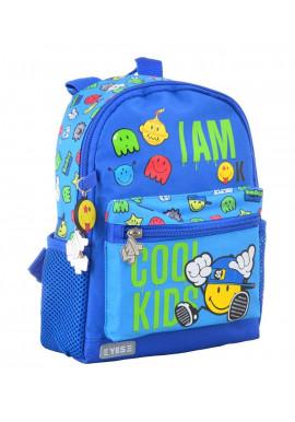 Текстильный детский рюкзак YES K-16 Cool kids
