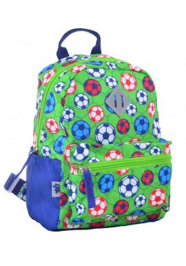 Зеленый детский рюкзак YES K-19 Football