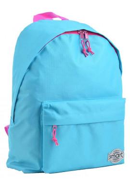Фото Городской рюкзак голубого цвета SMART ST-29 Aqua