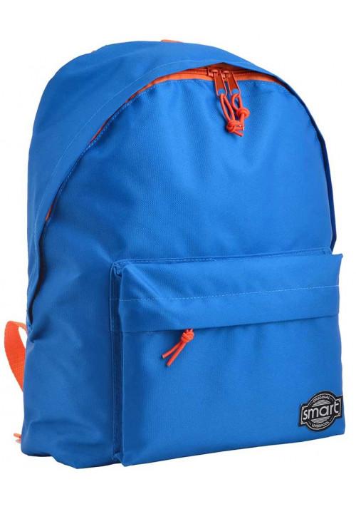 Светло-синий рюкзак из ткани SMART ST-29 Azure