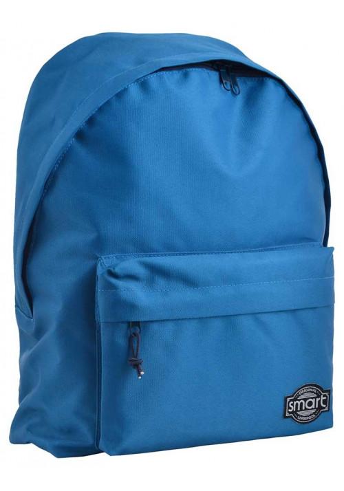 Классический синий городской рюкзак SMART ST-29 Pine Green