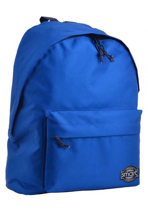 Рюкзак для города насыщенного синего цвета SMART ST-29 Powder Blue